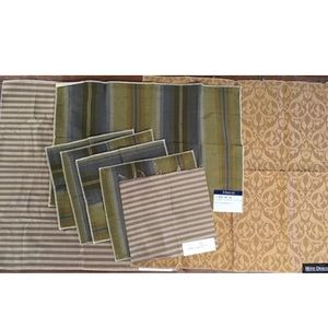 8pcs 100% Silk Fabric Samples Bundle